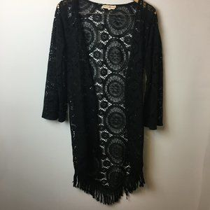 Altar'd State Cardigan Duster Crochet Sweater S